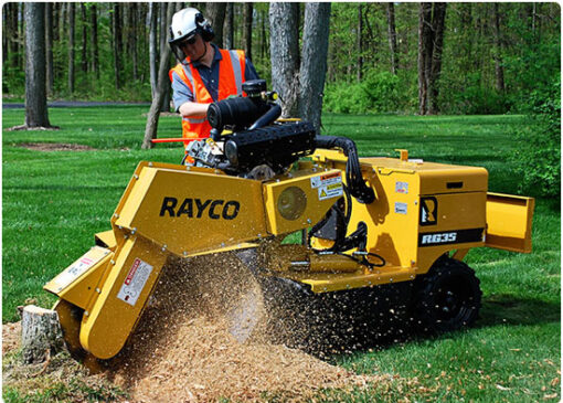 Stump Grinding in New Jersey